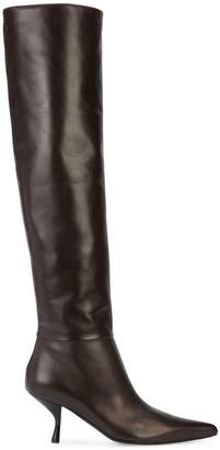 The Row knee length boots