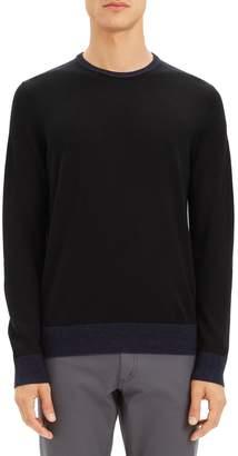 Theory Rothley Merino Wool Crewneck Sweater