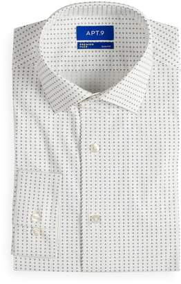 Apt. 9 Men's Slim-Fit Stretch Cut-Away Collar Dress Shirt