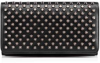 Christian Louboutin Macaron Continental Wallet With Flap