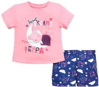 Peppa Pig Girls Shorty Pyjamas