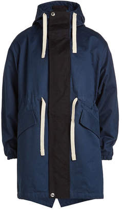 Acne Studios Cotton Coat with Hood