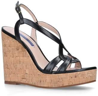 Stuart Weitzman Cressa Wedge Sandals