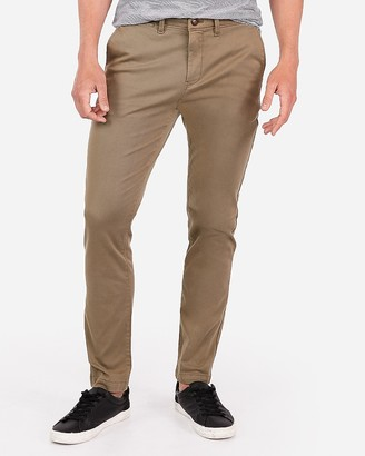 Express Skinny Garment Dyed Hyper Stretch Chino