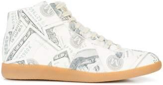 Maison Margiela Dollar printed sneakers
