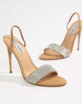Steve Madden Fierce Rhinestone Slingback Heeled Sandals