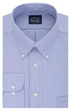 Eagle Regular Fit Striped Dress Shirt with Stretch Collar
