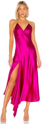 Jill Stuart Rhinestone Strap Slip Dress