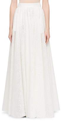 Alaia Circular Dovore Full Skirt