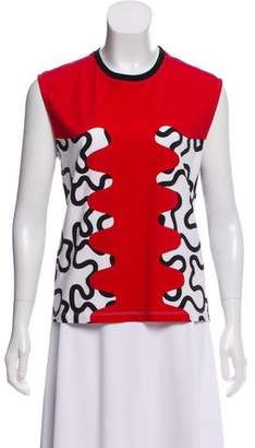 J.W.Anderson Printed Sleeveless Top
