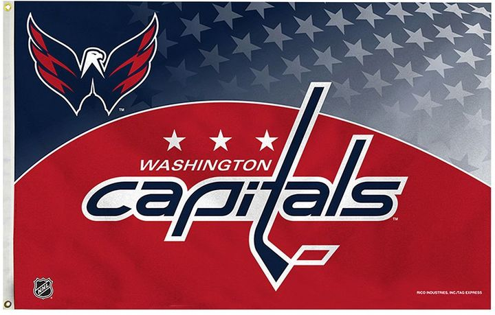 Washington Capitals Red Banner Flag