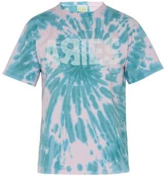 6f46b424b5c7 Aries Go Your Own Way Tie Dye Cotton T Shirt - Mens - Pink