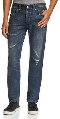 True Religion Rocco Slim Fit Jeans in Midnight Storm