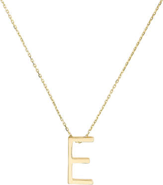 Nickho Rey E Alphabet Necklace