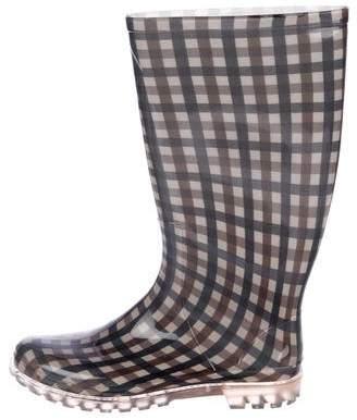 Aquascutum London Rubber Rain Boots