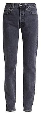 Helmut Lang Women's Masc High-Rise Straight-Leg Jeans