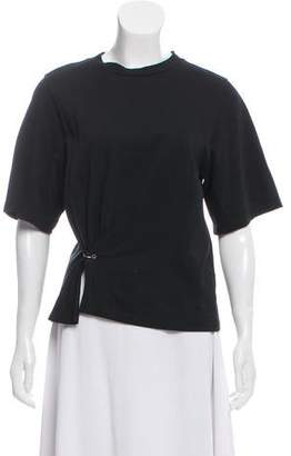 3.1 Phillip Lim Ring-Detailed Short-Sleeve T-Shirt