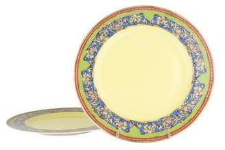 Rosenthal Meets Versace Pair of Russian Dream Dinner Plates