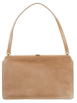 Lambertson Truex Ponyhair Shoulder Frame Bag