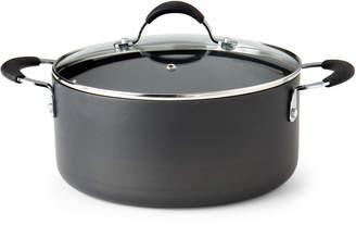 Oneida 5-Quart Black Covered Saucepan