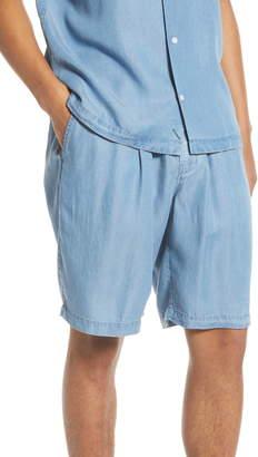 Saturdays NYC Keigo Chambray Shorts