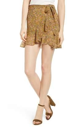 Rebecca Minkoff Alice Floral Wrap Miniskirt