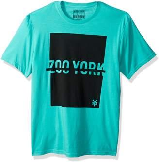 Zoo York Men's Short Sleeve Logo Tee, Mnml