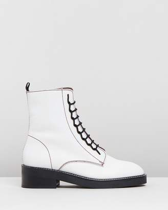 Topshop Artist Lace-Up Boots