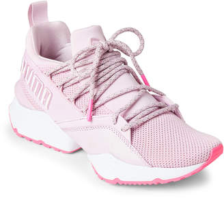 Puma Orchid Muse Maia Street 2 Low-Top Sneakers