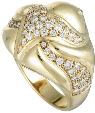 Bulgari Heritage  18K 1.00 Ct. Tw. Diamond Ring
