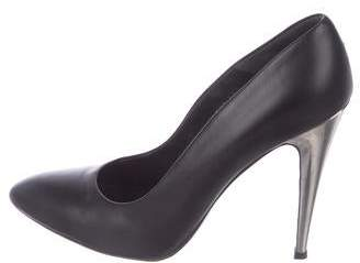 Walter Steiger Leather Semi Pointed-Toe Pumps