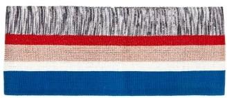 Missoni Metallic Stripe Lurex Belt - Womens - Blue