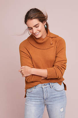 Anthropologie Emin Buttoned Pullover