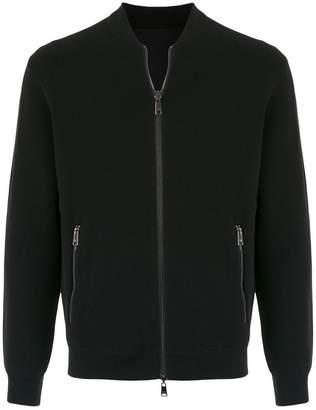 Emporio Armani zipped bomber jacket