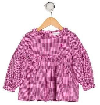 Ralph Lauren Girls' Gingham Dress