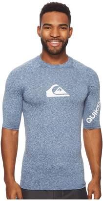 Quiksilver All Time Short Sleeve Rashguard Men's Swimwear