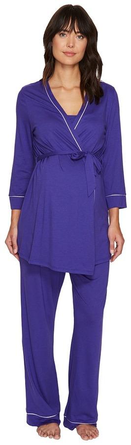 CosabellaCosabella - Bella Maternity Three-Piece PJ Set Women's Pajama Sets