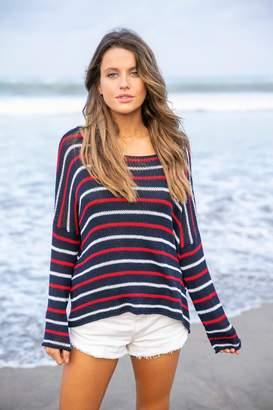 Wooden Ships American Stripe Sweater