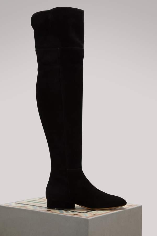 Salvatore Ferragamo Cremona suede boots