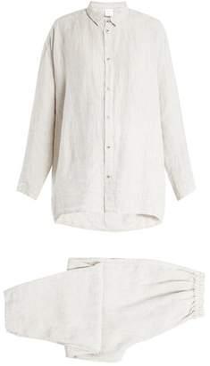 Once Milano - X Toogood Linen Pyjamas - Womens - White