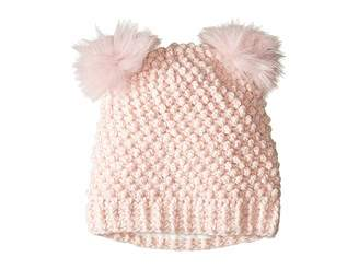 Tundra Boots Kids Double Pom Knit Hat