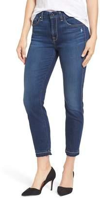 Jen7 Jen 7 Release Hem Skinny Ankle Jeans (Riche Touch)