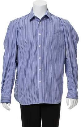 Balenciaga Oversized Button-Up Shirt