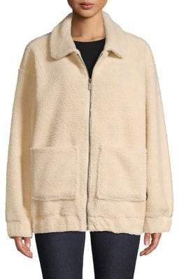 Andrew Marc Full-Zip Faux Fur Jacket