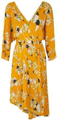 Diane von Furstenberg Eloise Floral-print Silk Dress