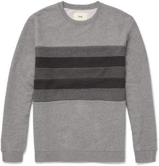 Folk Striped Loopback Cotton-Jersey Sweatshirt