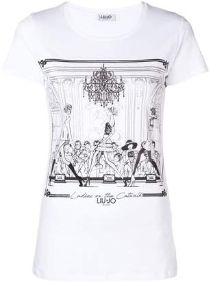 Liu Jo Ladies On The Catwalk T-shirt