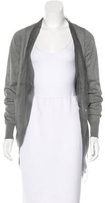 Vera Wang Layered Open-Front Cardigan $85 thestylecure.com