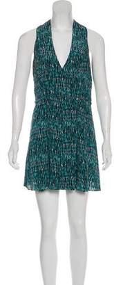 Proenza Schouler Silk Wrap Dress