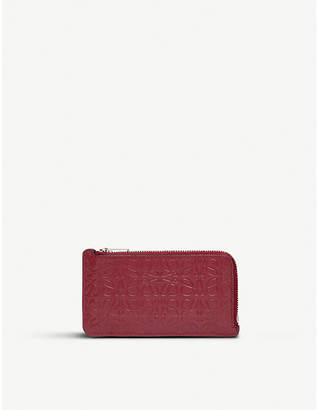 Loewe Leather coin and card holder